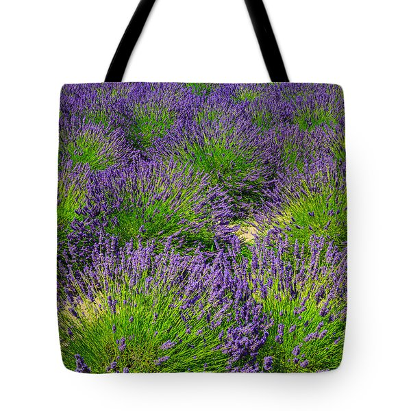 A Pattern Of Lavender Tote Bag
