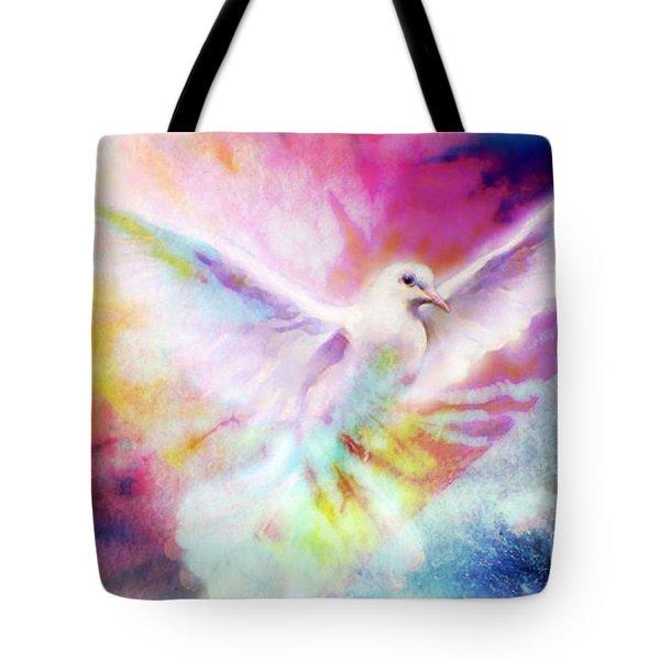 A Peace Dove Tote Bag