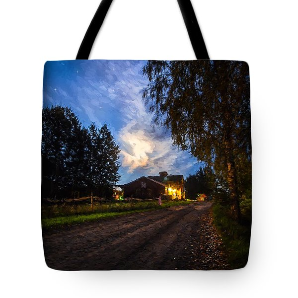 A Peaceful Evening Tote Bag