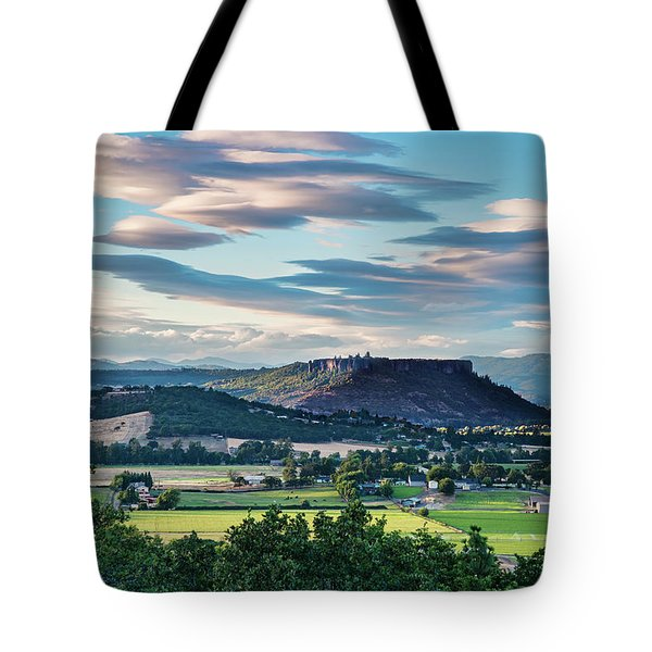 A Peaceful Land Tote Bag