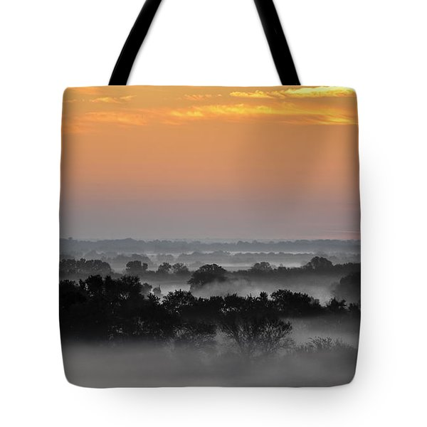 A Peaceful Morning  Tote Bag