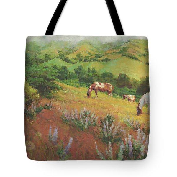 A Peaceful Nibble Tote Bag