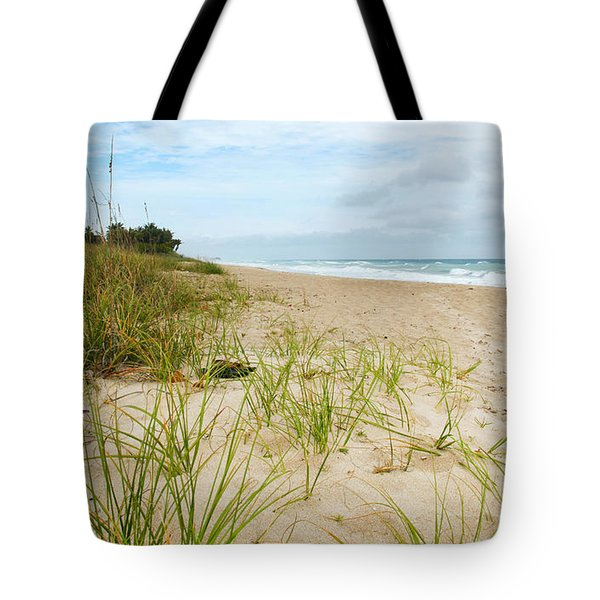 A Peaceful Place By The Sea Tote Bag