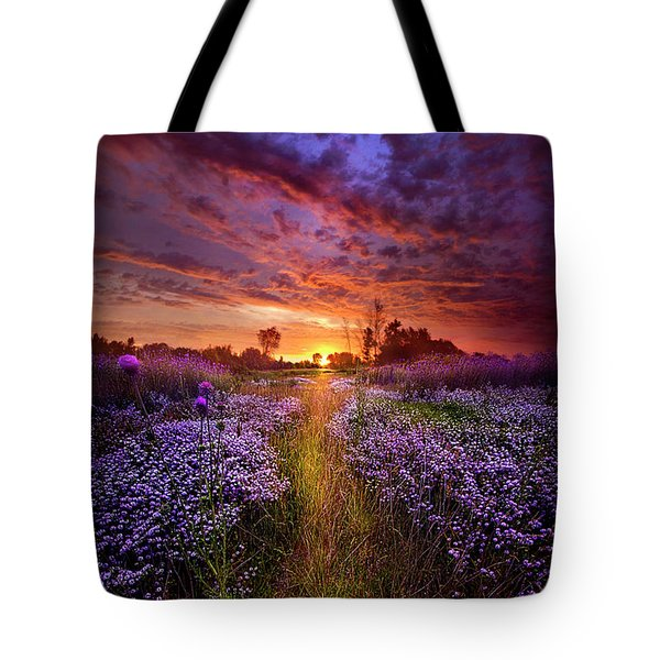 A Peaceful Proposition Tote Bag