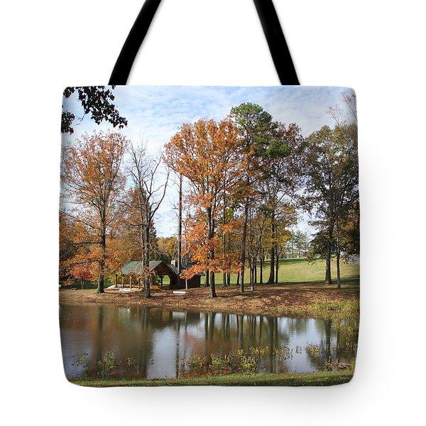 A Peaceful Spot Tote Bag