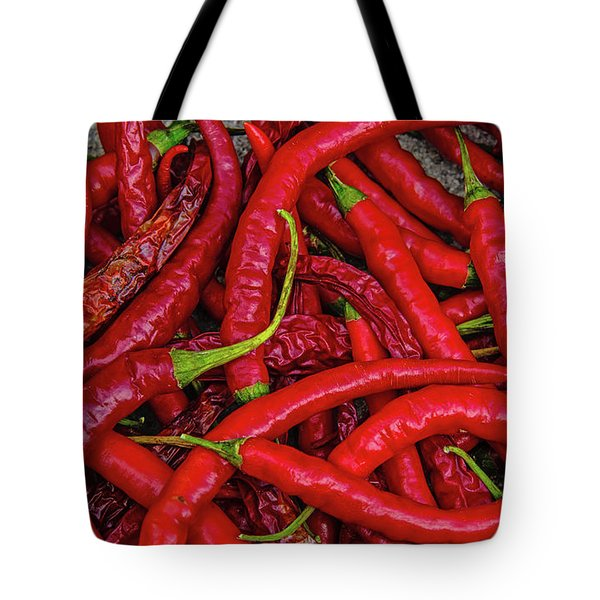 A Peck Of Unpickled Peppers Tote Bag
