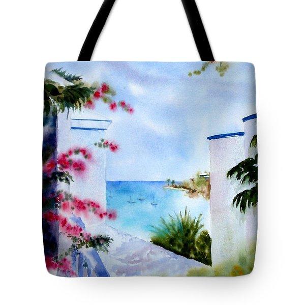 A Peek At Paradise Tote Bag