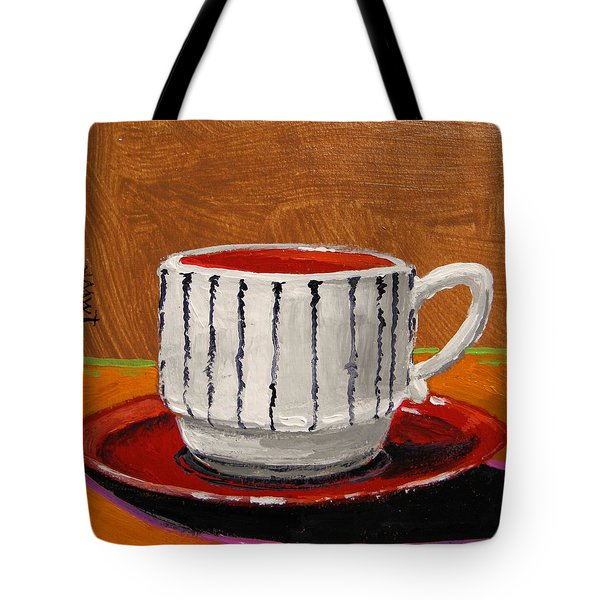 A Perfect Cup Tote Bag by John Williams