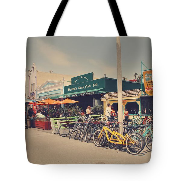 A Perfect Day For A Ride Tote Bag by Laurie Search