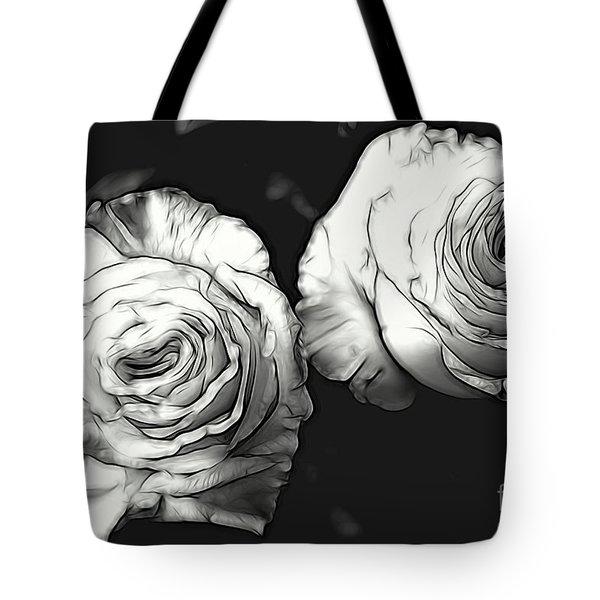 A Perfect Pair Bw Tote Bag