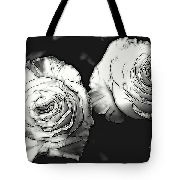 A Perfect Pair Bw Tote Bag