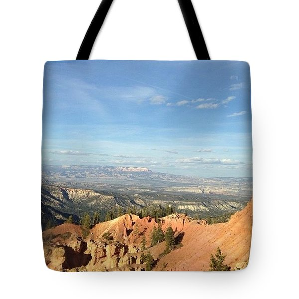 A Perfect Spot At Bryce Canyon Tote Bag