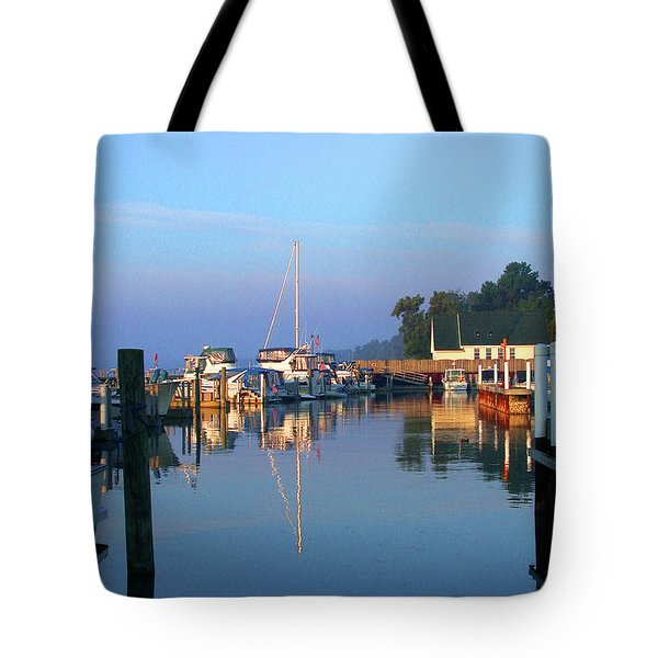 A Perfect Tawas Morning Tote Bag