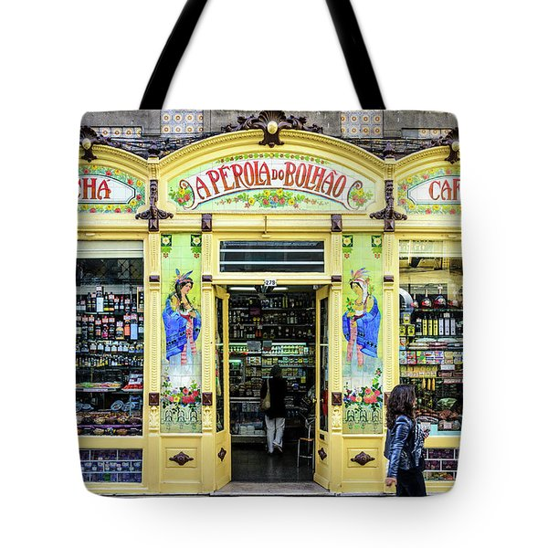 Tote Bag featuring the photograph A Perola Do Bolhao In Porto by RicardMN Photography