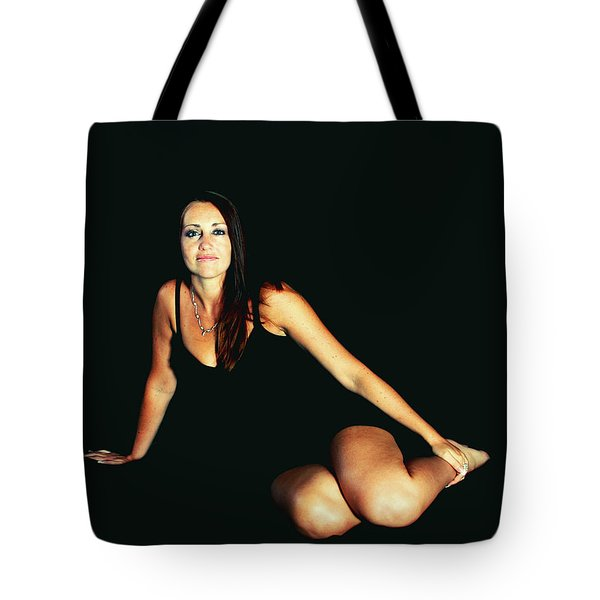 A Person Divided Tote Bag