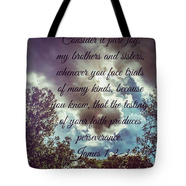 A Photo I Took And Added This Bible Tote Bag