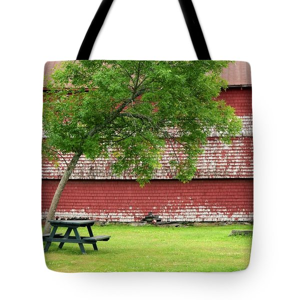 Tote Bag featuring the photograph A Picnic For You And Me by Corinne Rhode