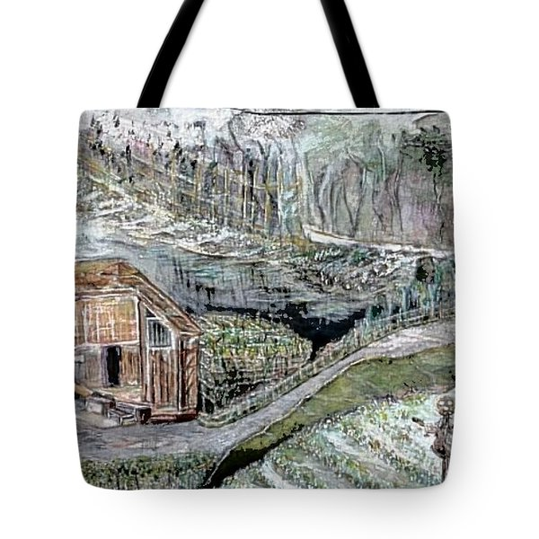 A Piece Of Earth From Hills Of Northeast India Tote Bag
