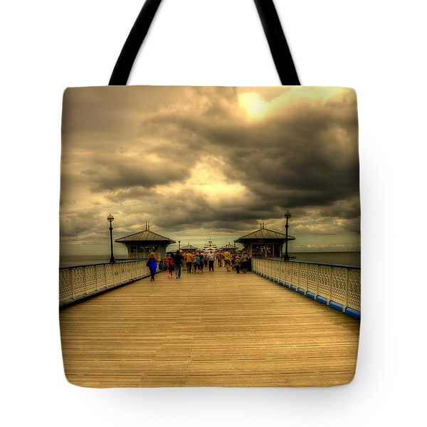 A Pier Tote Bag by Svetlana Sewell