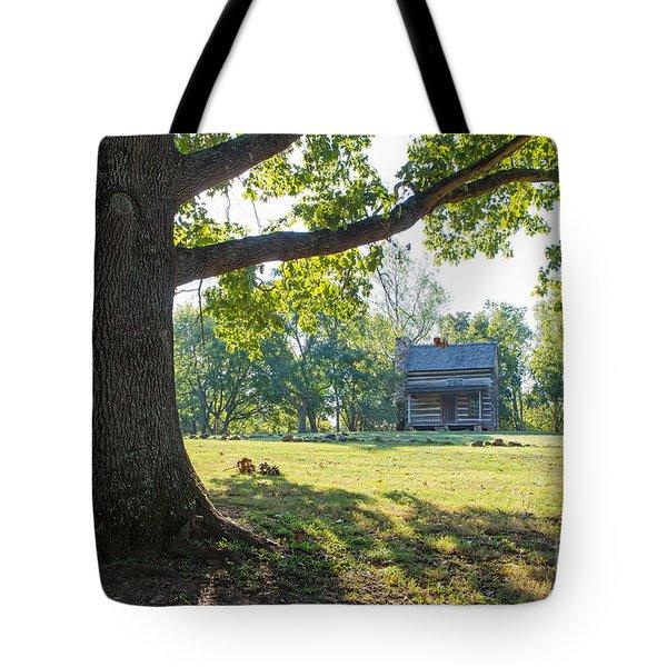 A Pioneer's Stake Tote Bag