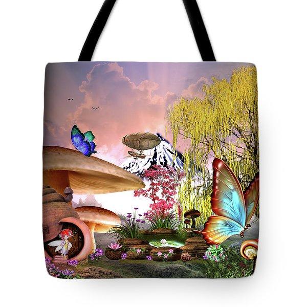 A Pixie Garden Tote Bag