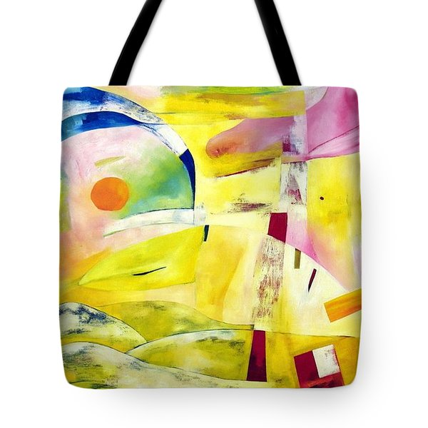 Tote Bag featuring the painting A Place Called Home by Linda Cull