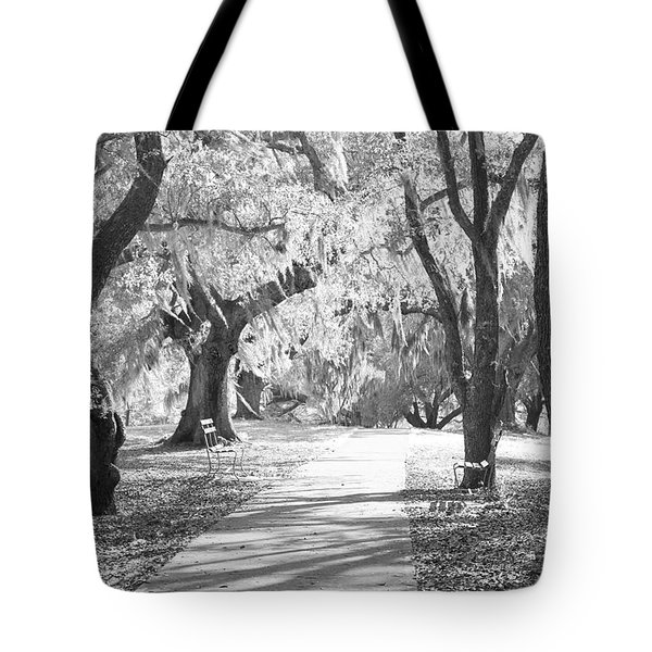 A Place For Contemplation Ir Tote Bag by Suzanne Gaff