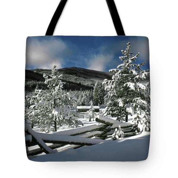 A Place In The Winter Sun Tote Bag