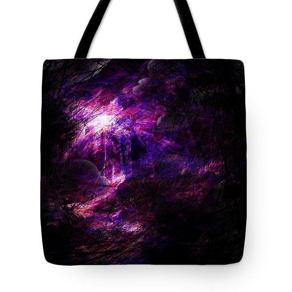 A Place Of Agony Tote Bag by Rachel Christine Nowicki