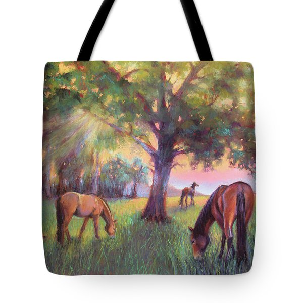 A Place Of Healing Tote Bag by Susan Jenkins
