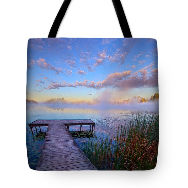 A Place Of Quiet Reflection Tote Bag by Phil Koch