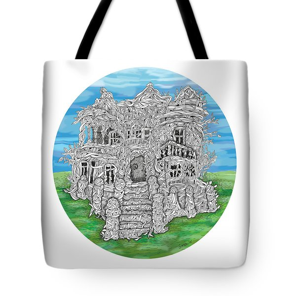 House Of Secrets Tote Bag