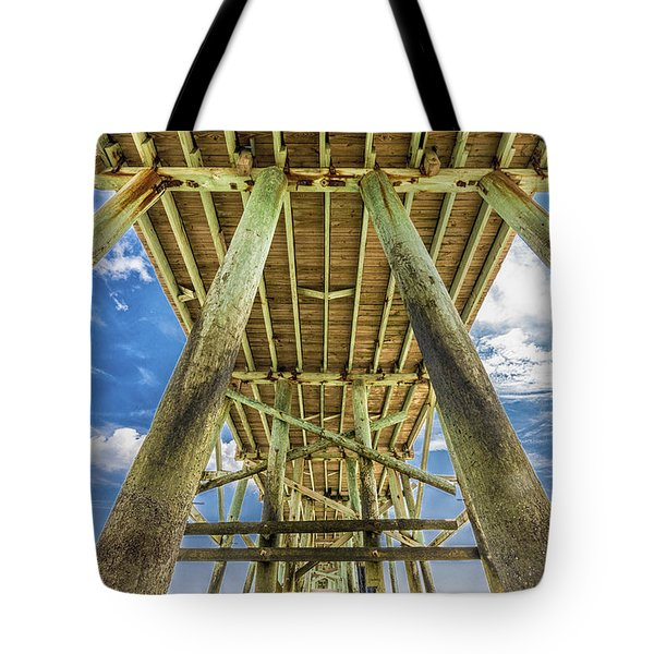 Tote Bag featuring the photograph A Place To Chill by Paula Porterfield-Izzo