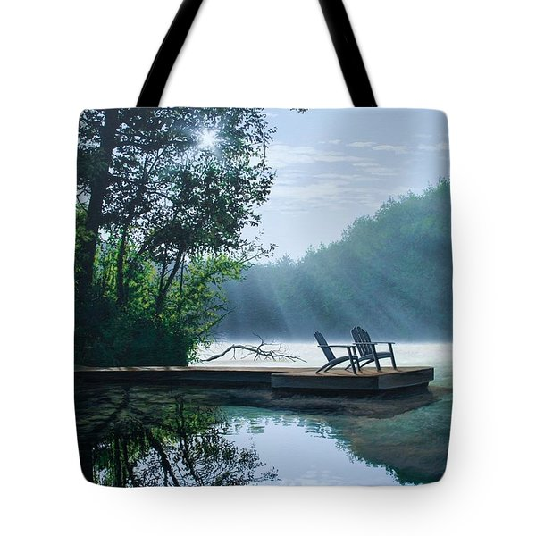 A Place To Ponder Tote Bag