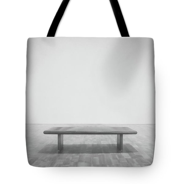 A Place To Sit 3 Tote Bag