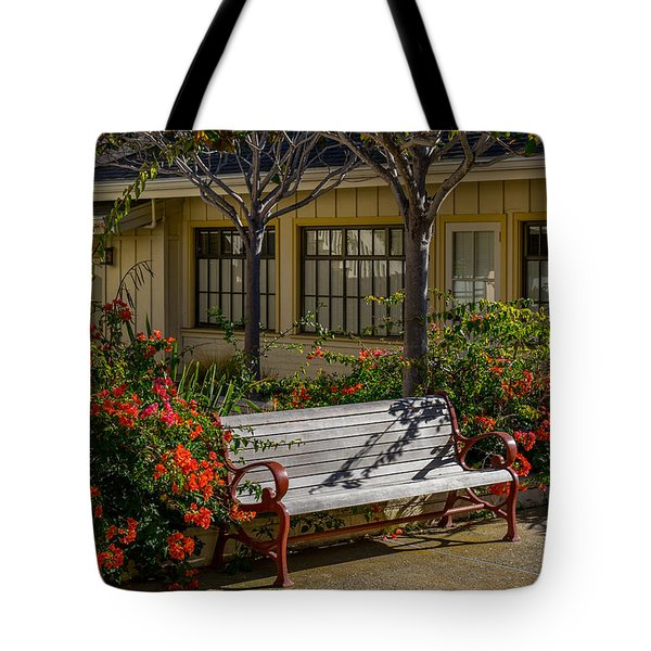 A Place To Sit Tote Bag