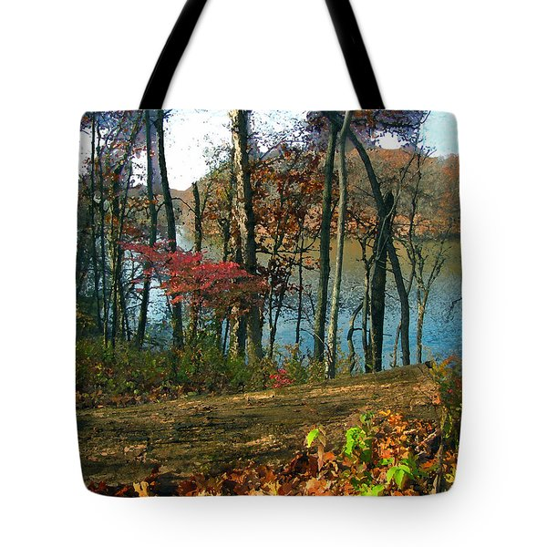 A Place To Think Tote Bag