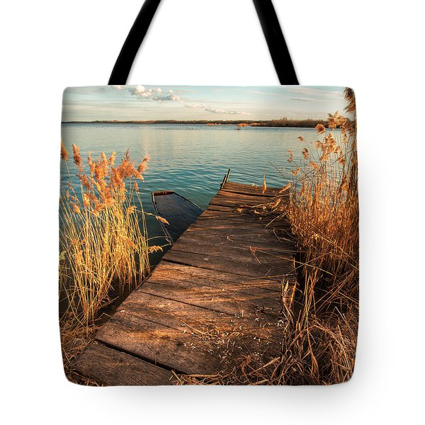 A Place Where Lovers Meet Tote Bag