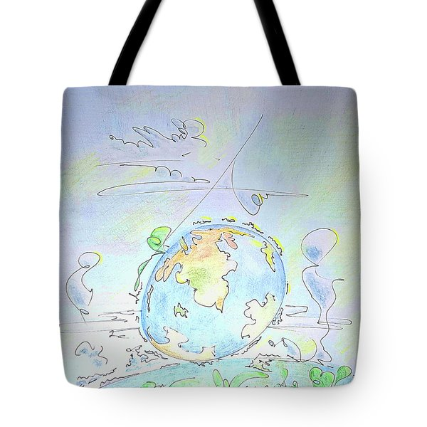 A Planet Remembered Tote Bag