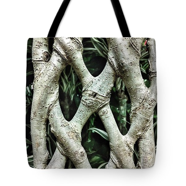A Plant Trunk Tote Bag