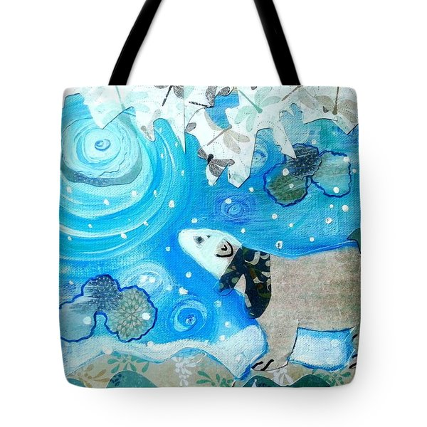 A Polar Moment Tote Bag