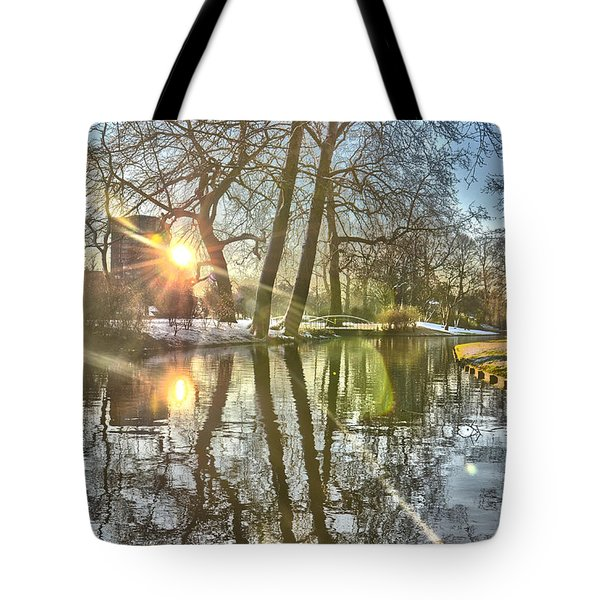 A Pond In Rotterdam Tote Bag
