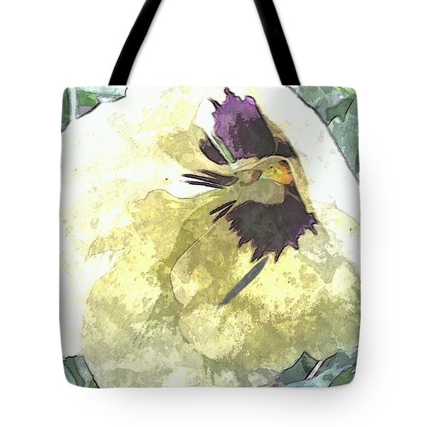 A Pop Of Pansy Tote Bag