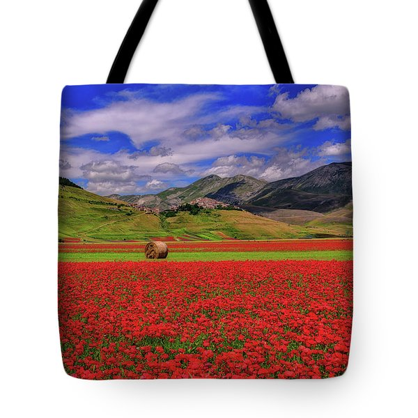 A Poppyy Dream Tote Bag