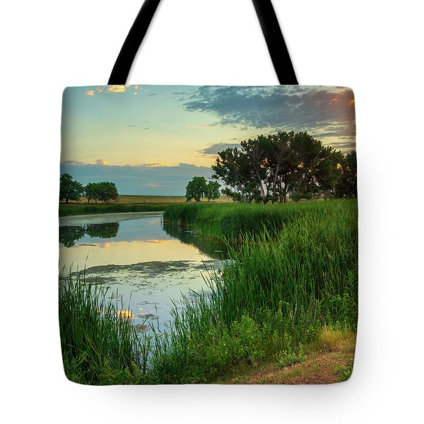A Portrait Of Summer Tote Bag