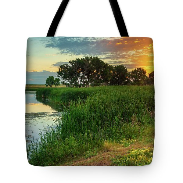 A Portrait Of Summer Tote Bag