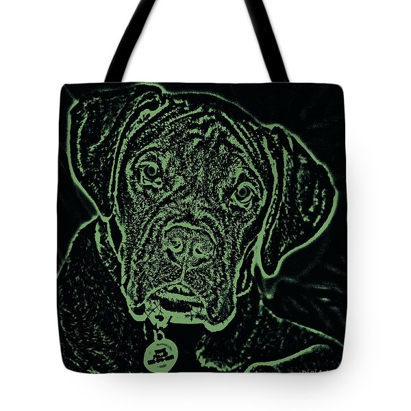 A Positive Negative Tote Bag by DigiArt Diaries by Vicky B Fuller