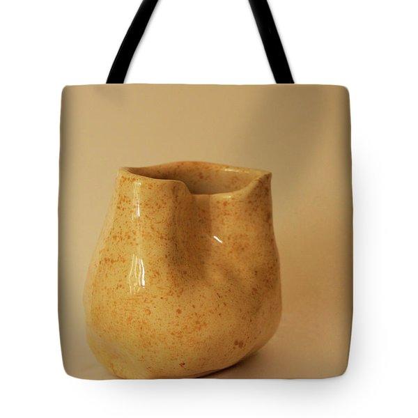 A Pot On A Leaf Tote Bag by Itzhak Richter