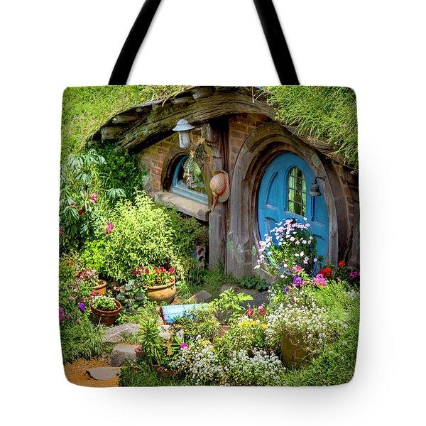 A Pretty Hobbit Hole Tote Bag