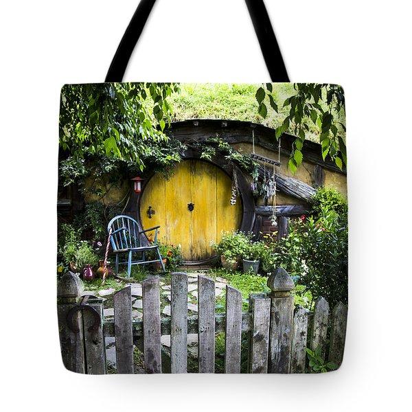 A Pretty Little Hobbit Hole Tote Bag